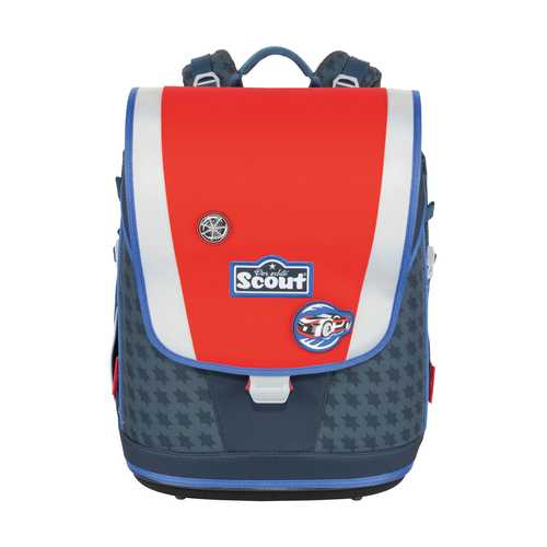 Scout Ultra Schoolbag Set Race Car