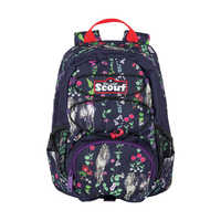 Scout Rucksack VI Flower Horses Frontansicht