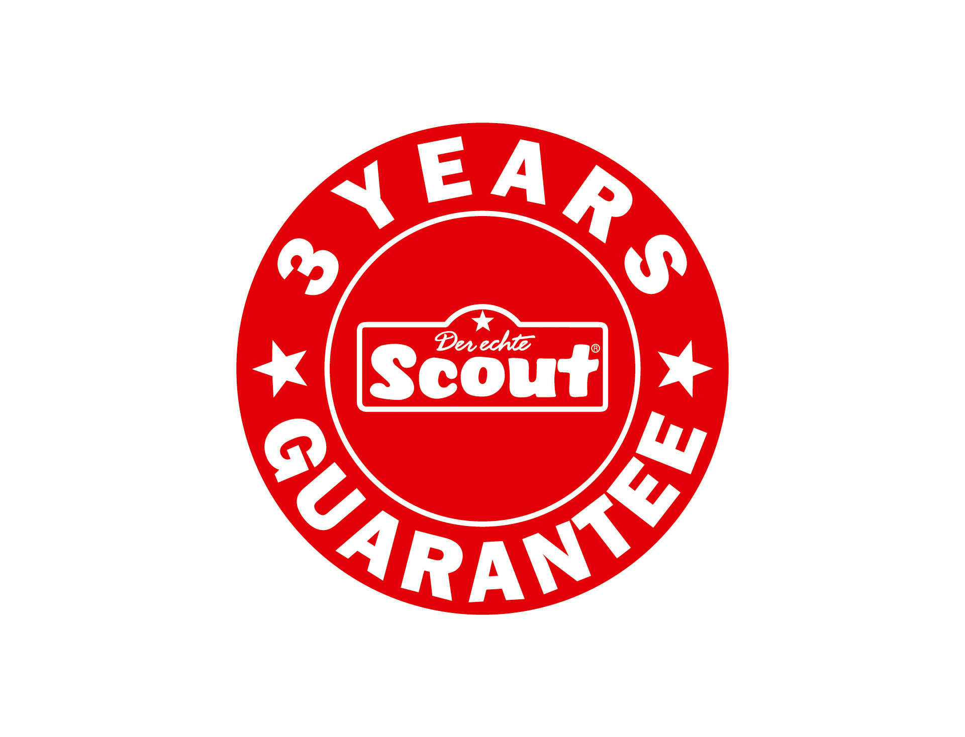 Scout: 3  years - guarantee